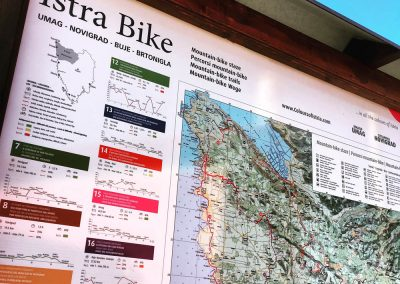Istra Bike map, Zrenj