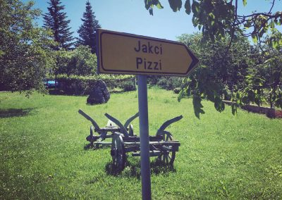 Jakci / Pizzi, Istria - our village is Jakci in Croatian and Pizzi (or the Croatian derivation, Pici) in Italian. The larger village, a tiny walk away from our house for sale, is Zrenj (Croatian) or Stridone (Italian)