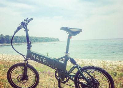 Electric Mates bicycle - one of our best purchases! An electric bike is an essential for the hilly terrain Zrenj