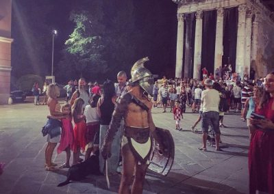 Roman Gladiator, The Forum, Pula