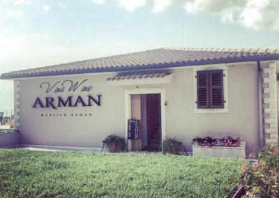 Marijan Arman Winery, Vižinada, Istria - another well known, and award winning winery, very close to Zrenj