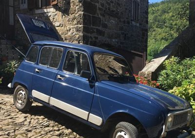 Vintage Renault 4, Piemonte, Istria